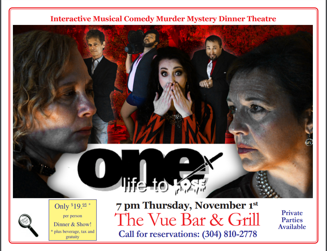 Mystery Theater At The Vue Bar Amp Grille Visit Moundsville