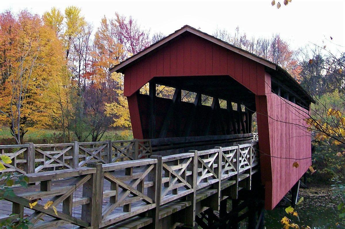 Covered Bridge at Ohio University Eastern